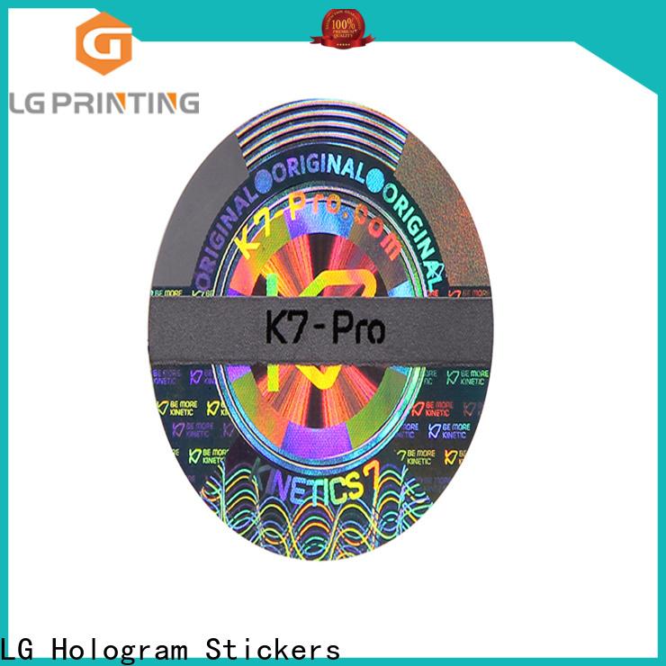 Custom lg logo sticker sticker suppliers for pharmaceuticals