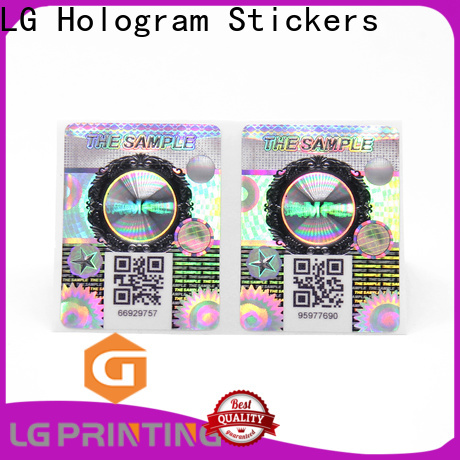 LG Printing Buy authentication label factory