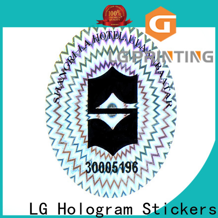 Customized void sticker 3d suppliers for cosmetics
