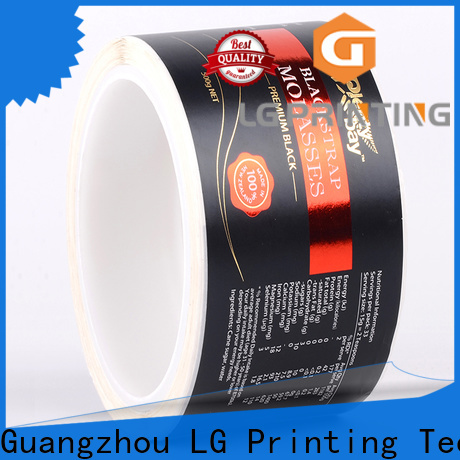 Bulk self adhesive vinyl stickers foil price for cans