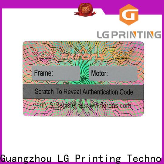 High-quality chloe hologram sticker bar vendor for electronics