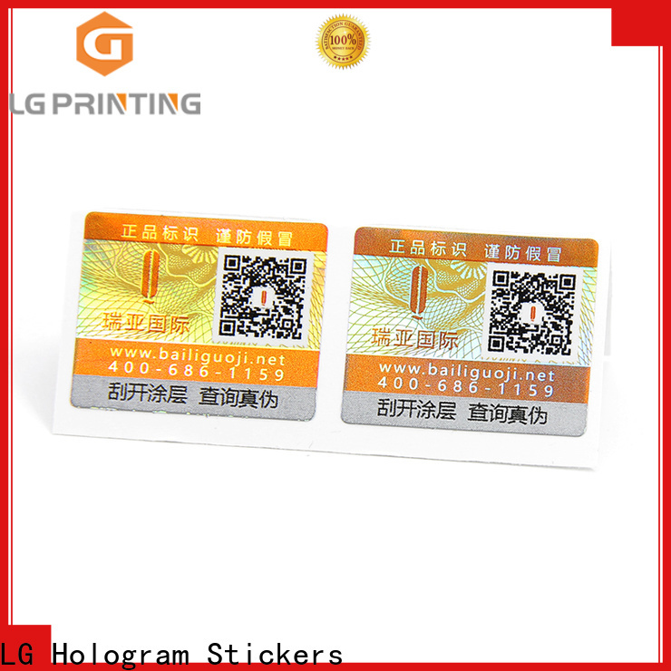 LG Printing Quality sticker labels for clothes cost