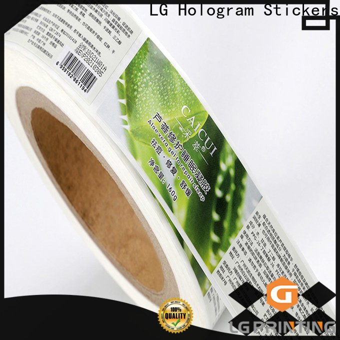 LG Printing Best custom vinyl stickers manufacturers for cans