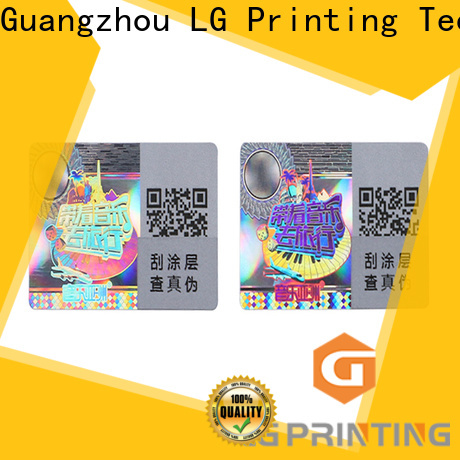 LG Printing original hologram sticker price for pharmaceuticals