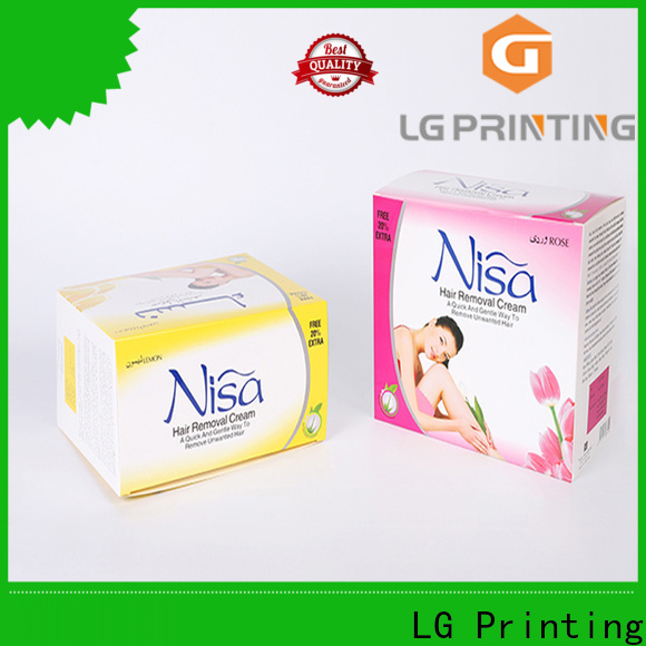 LG Printing Quality customized gift boxes wholesale