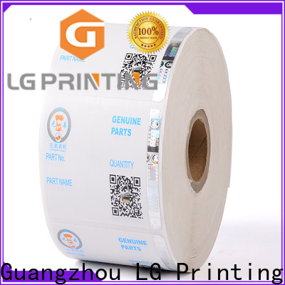 LG Printing Professional holographic stamp manufacturers for products
