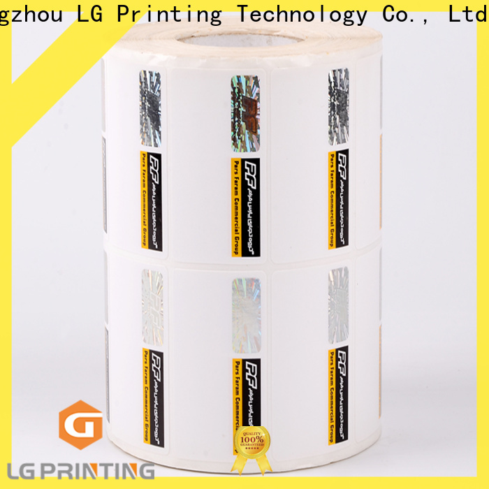 LG Printing Quality buy hologram stickers cost for products