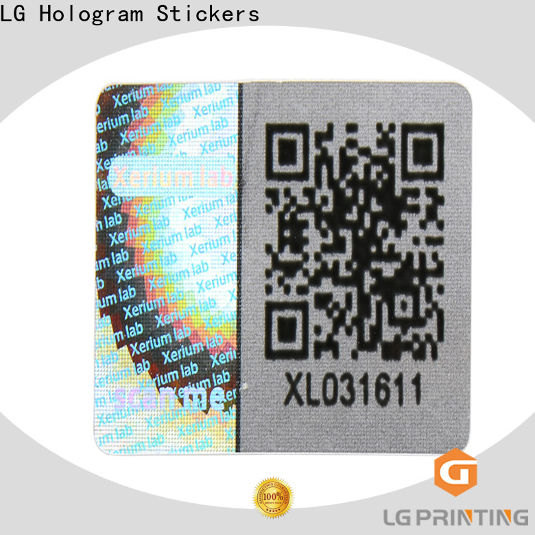 LG Printing Bulk buy foil vinyl stickers factory price for skin care products