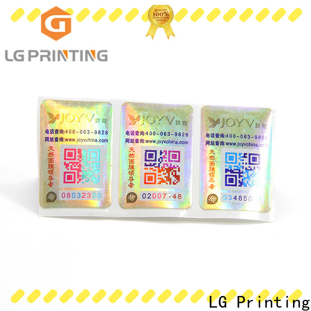LG Printing paper adhesive labels cost for goods