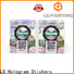 Quality tamper evident seal supply for cosmetics