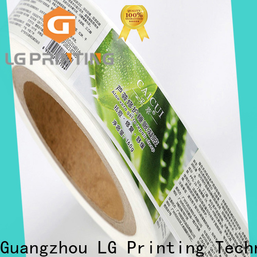 LG Printing Best adhesive labels for bottles wholesale for jars