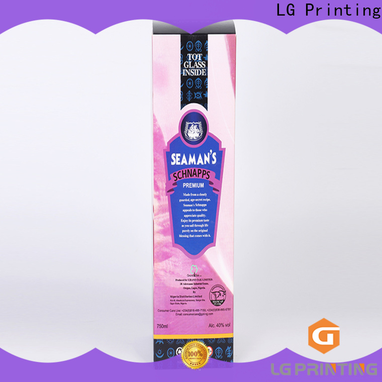 LG Printing custom printed lip balm boxes manufacturers for products package