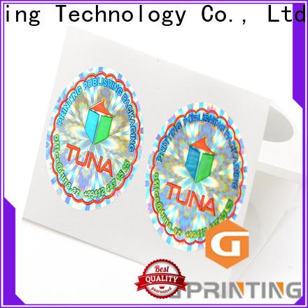 LG Printing Bulk buy holographic seal factory for garment hangtag