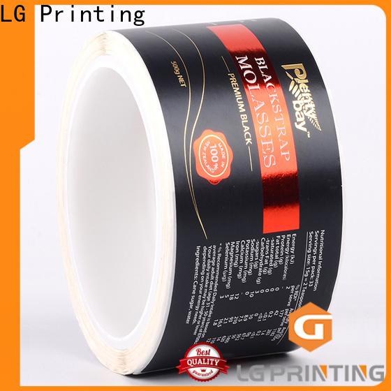 LG Printing pvc personalised cardboard box factory price for jars