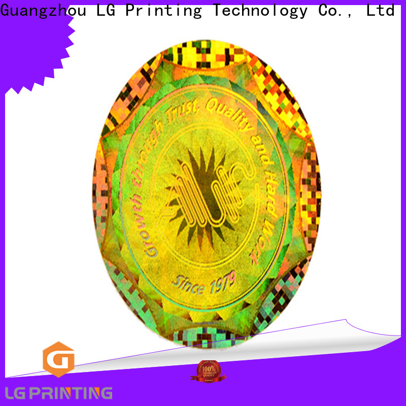 Bulk buy id hologram stickers various supply for garment hangtag