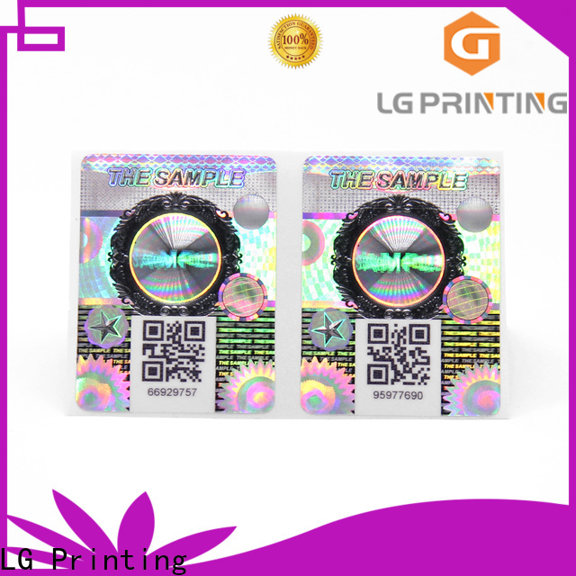 LG Printing Quality counterfeit labels suppliers for products