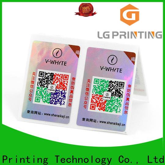 Top custom label printing company