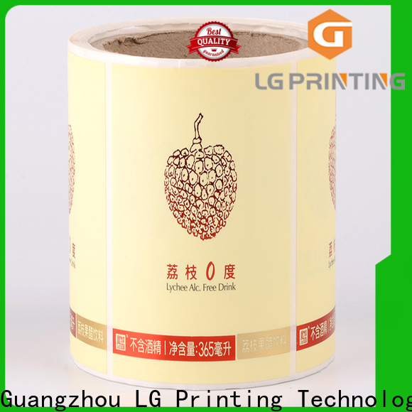 LG Printing pvc custom boxes wholesale suppliers for cans