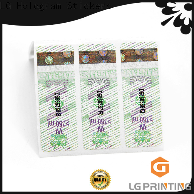 Customized custom color labels price for goods