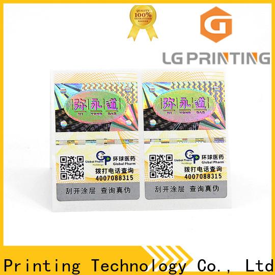 Bulk buy self adhesive printed label factory price