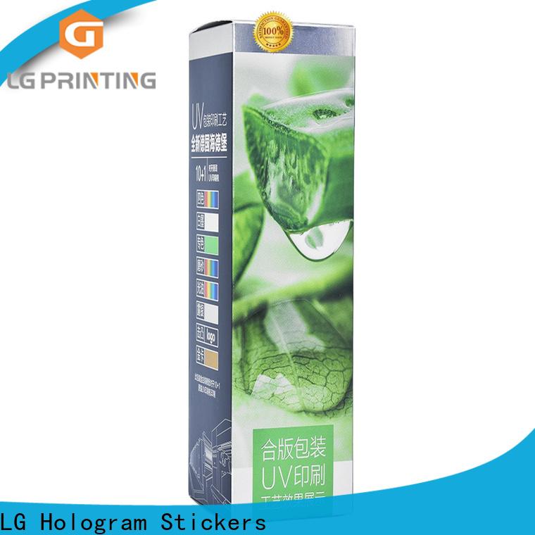 LG Printing custom cream boxes factory