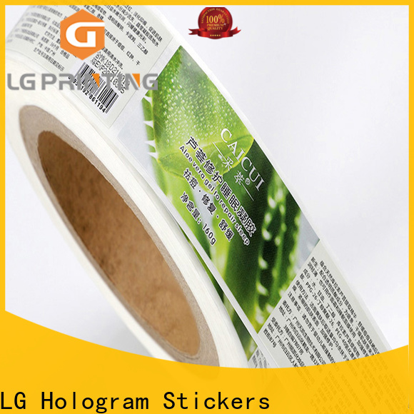 LG Printing pvc custom printed shipping boxes for cans