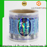 LG Printing Top 3d holographic stickers supply for metal box surface