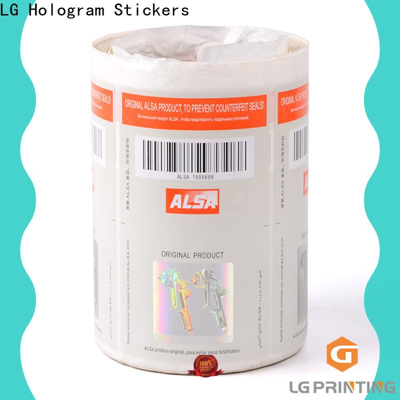 Bulk buy security hologram stamping label number price for box