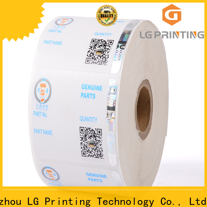 Customized custom security stickers 122 manufacturers for products