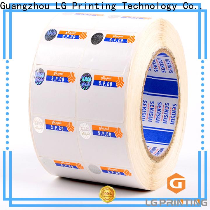 Professional hologram sticker printing hologram manufacturers for goods