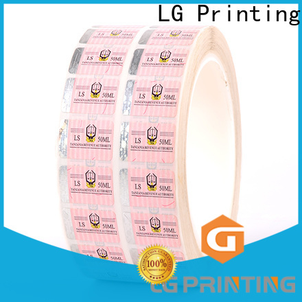 LG Printing stickers hologram sticker security price for products