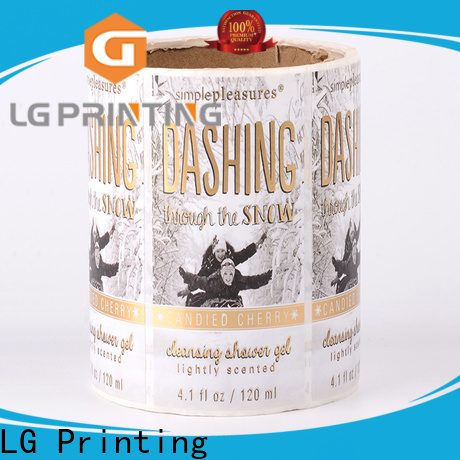 High-quality adhesive paper for labels bopp manufacturers for jars