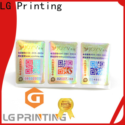 LG Printing counterfeit protection factory price for products