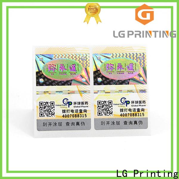 LG Printing paper adhesive labels factory price