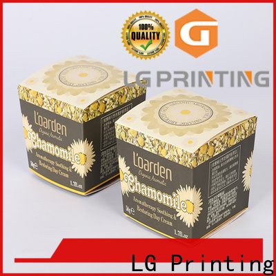 LG Printing Customized custom apparel boxes with logo cost for retail package