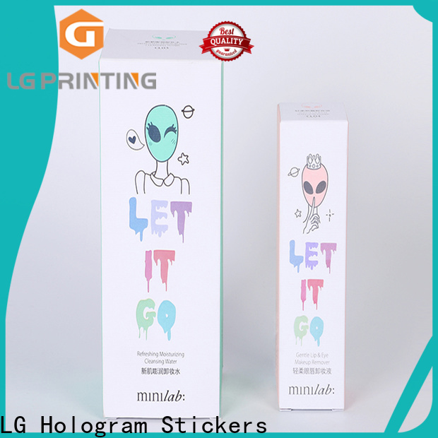 LG Printing Customized printing box for products package