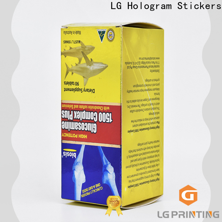 LG Printing printed cosmetic boxes factory price for retail package