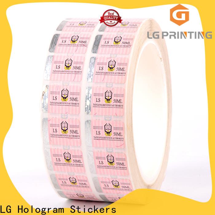 Custom genuine hologram stickers hologram wholesale for goods