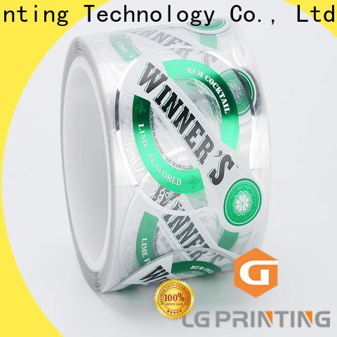 LG Printing gold packaging regulations wholesale for jars