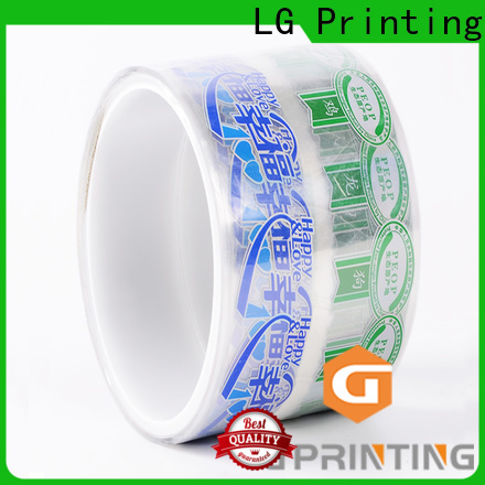LG Printing bopp custom packaging boxes wholesale factory price for jars