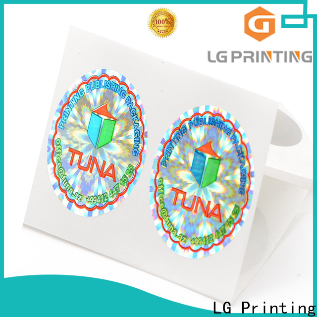 LG Printing barcode hologram printing machine cost for electronics