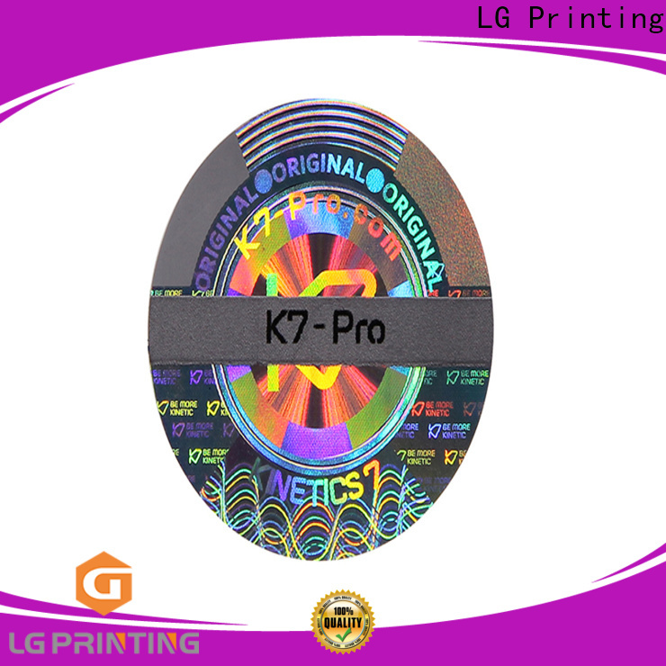 LG Printing Professional custom wine label stickers cost for skin care products