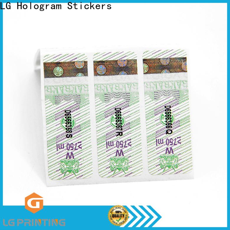 lg label company for bottles
