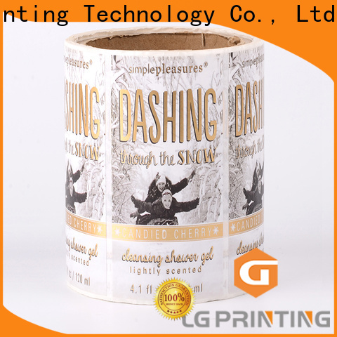 LG Printing red packaging supplier suppliers for bottle