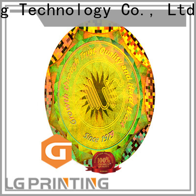 LG Printing Customized wholesale sticker printing manufacturers for pharmaceuticals