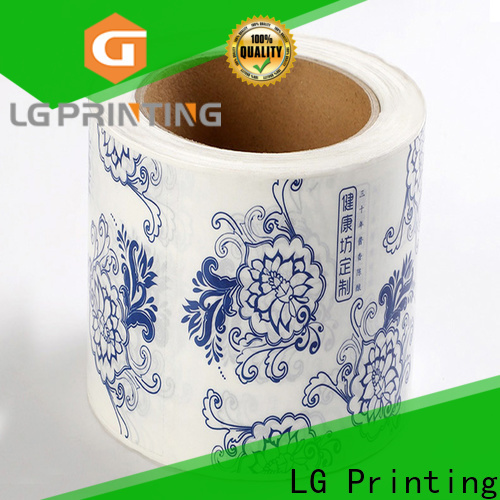 LG Printing Customized food packaging regulations supply for wine bottle
