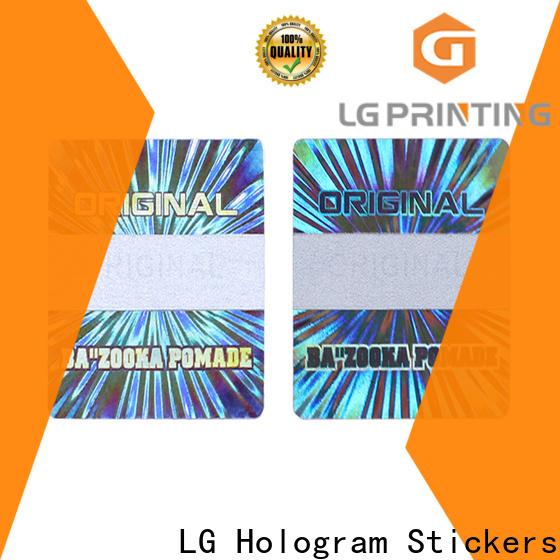 Buy laser hologram barcode vendor for skin care products