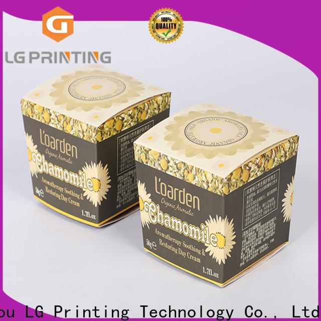 LG Printing box packaging custom manufacturers
