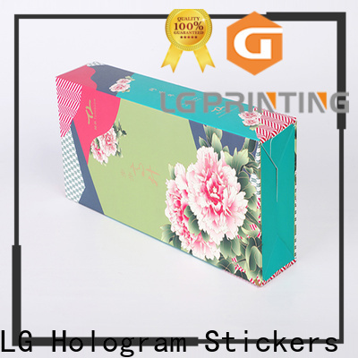 LG Printing custom packaging boxes with logo factory for all kinds of goods