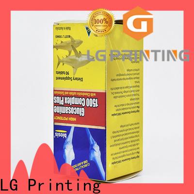 LG Printing custom chocolate box packaging factory
